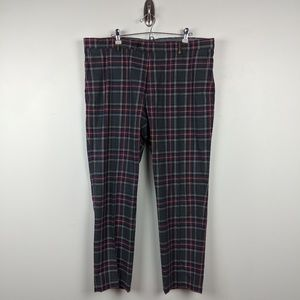 Brooks Brothers Mens Plaid Khaki Pants